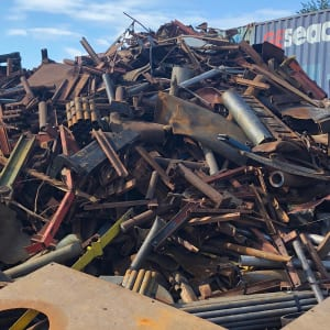 Recycle ferrous scrap metal at Greenway Metal Recycling
