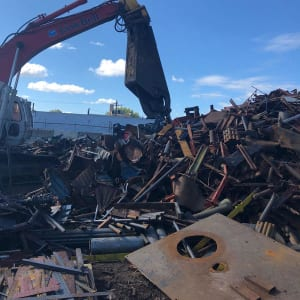 Scrap Yard Equipment at Greenway Metal Recycling