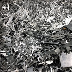 Aluminum metal scrap recycled at Greenway Metal Recycling